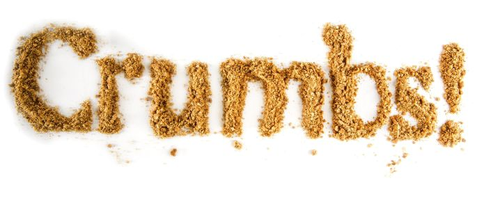 Crumbs can be a cookís best friend